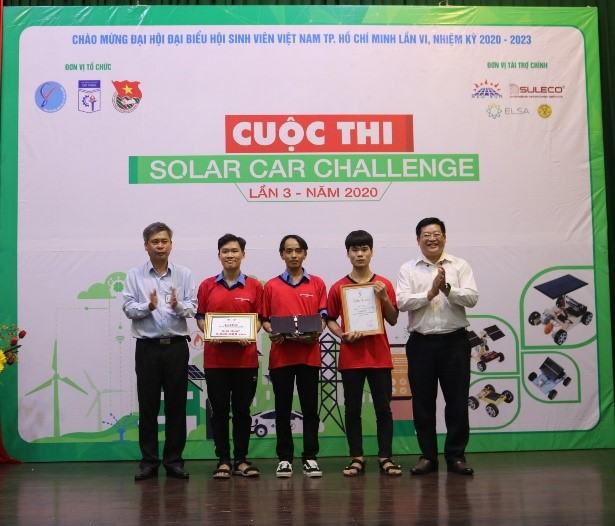 """CUỘC THI """"SOLAR CAR CHALLENGE"""" LẦN 3, NĂM 2020"""