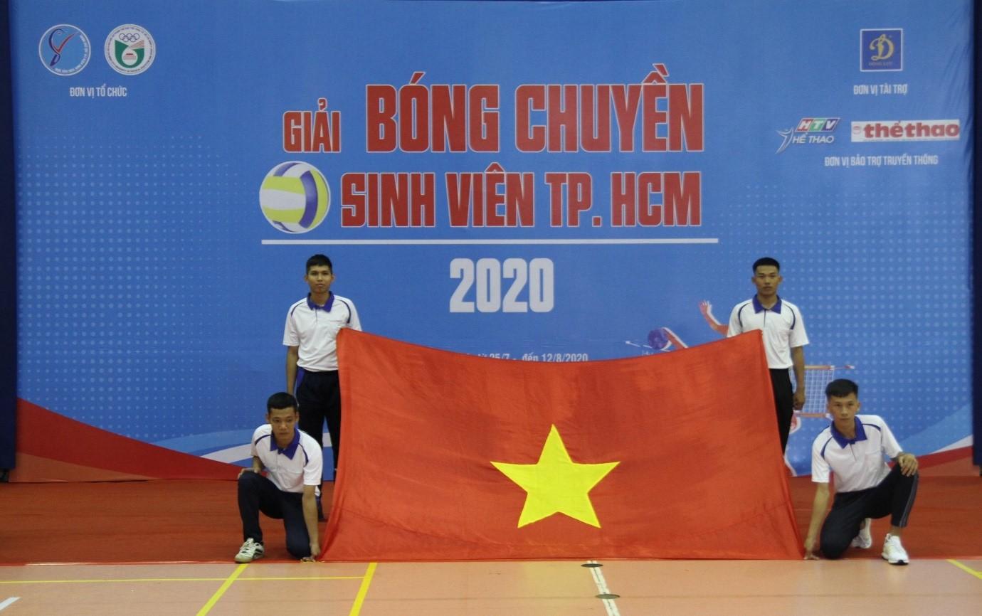 KHAI MẠC GIẢI BÓNG CHUYỀN SINH VIÊN TP.HCM NĂM 2020