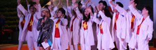 Chủ đề Covid-19, lòng yêu nước lên ngôi tại Giải Dân vũ HSSV thành phố