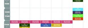Lịch sinh hoạt định kỳ các CLB/Đội/Nhóm